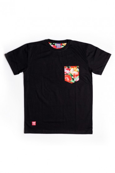 Flower Pocket Black