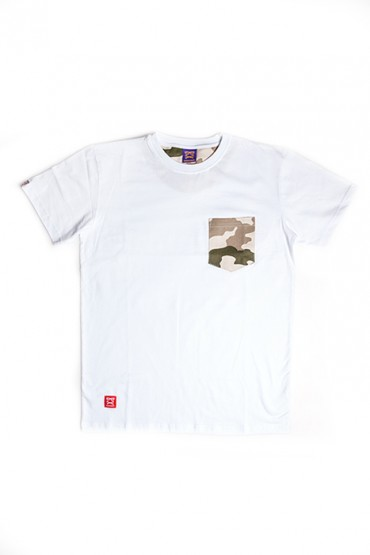 Sandstorm Camo Pocket White