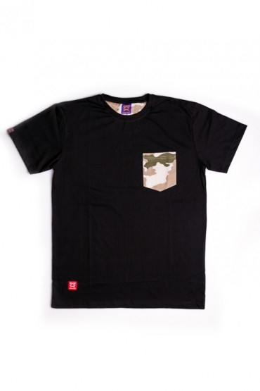 Sandstorm Camo Pocket Black