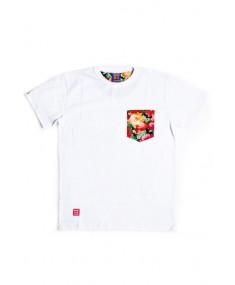 Flower Pocket White